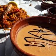 Gazpacho y Paella